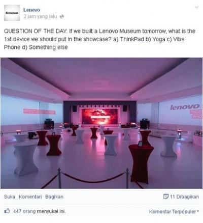Lenovo Akan Bangun LenovoMuseum?